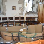 Boat made at Messy Church