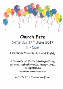 Church Fete 2017 is here!
